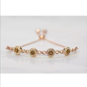 Jewelry - Cabochon Smoky Brown Topaz Bangle